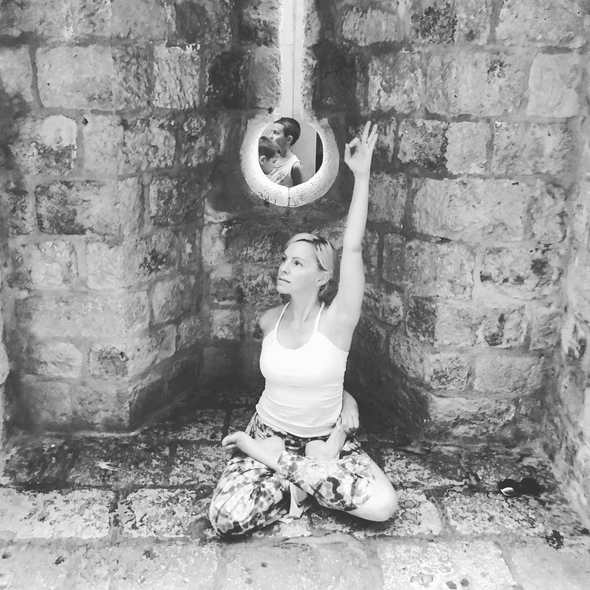 lotus pose, prenatal yoga, postpartum yoga, pelvic floor yoga