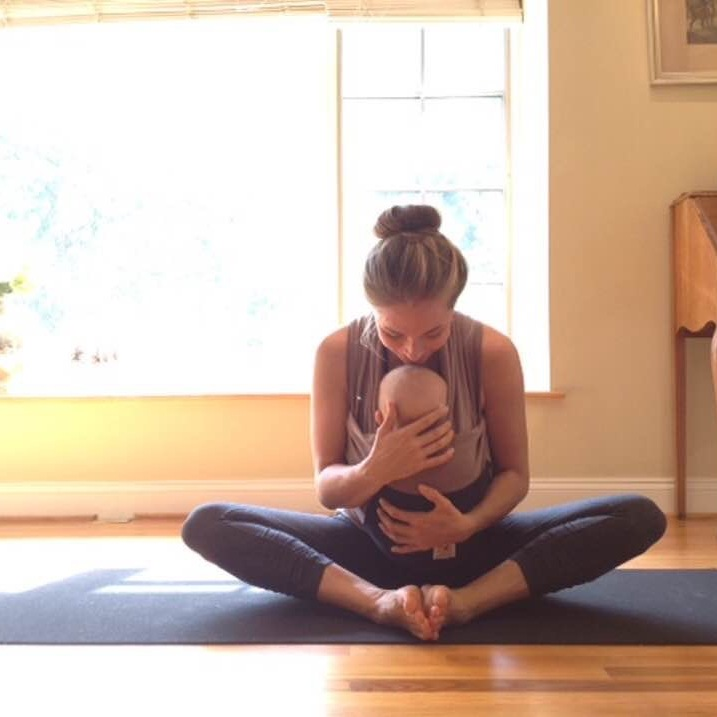 postpartum yoga, mommy and me